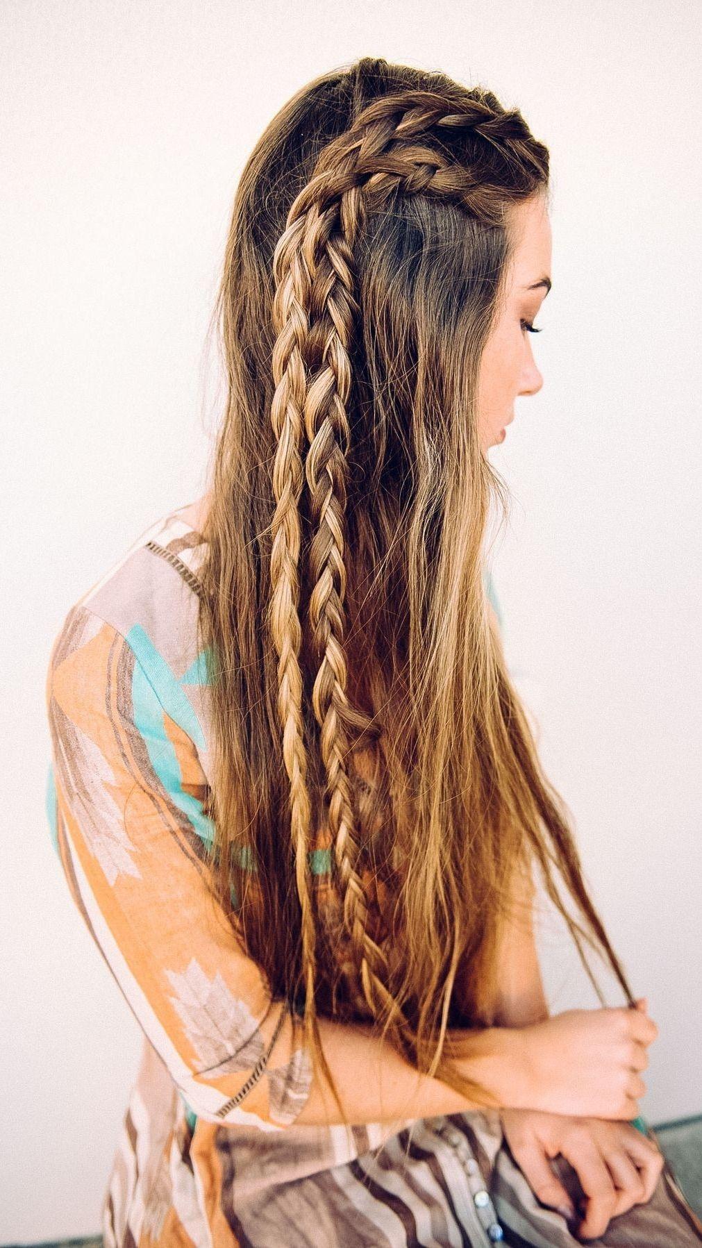 10 Non Boring Ways To Wear Braids Hair Styles Long Hair Styles Braids For Long Hair