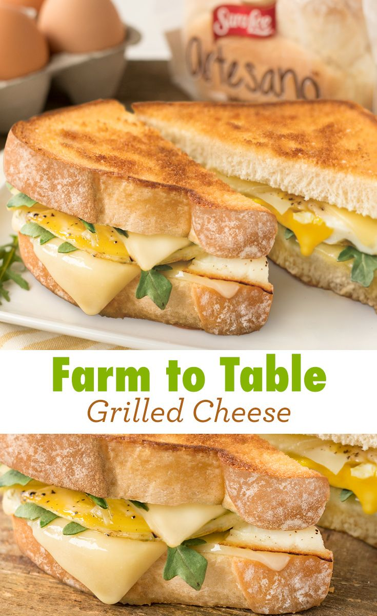 Farm to Table Grilled Cheese Recipe