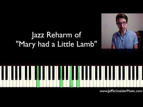 Jazz Reharmonization - BEST EXPLANATION - YouTube | Music | Electric