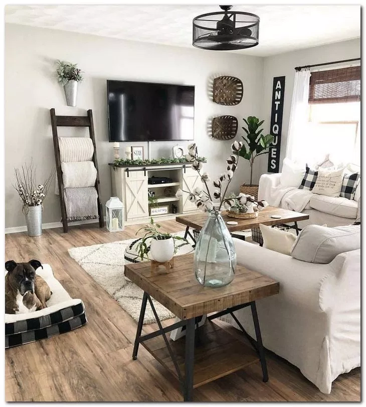 24 beautiful small space living room decoration ideas 5
