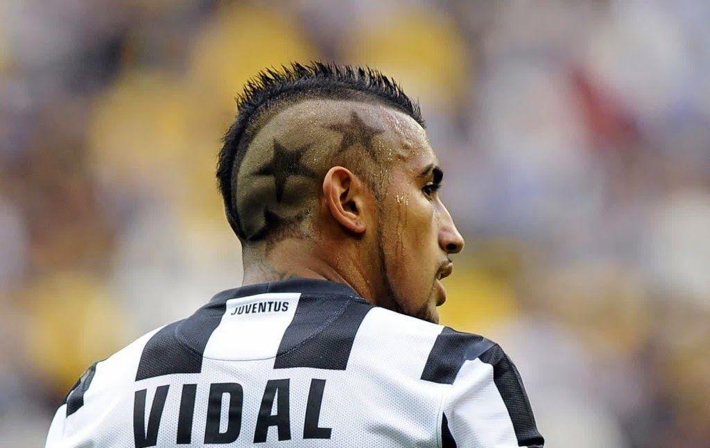 Arturo Vidal Mohawk Hairstyle Juventus 35864arturo Vidal Soccer