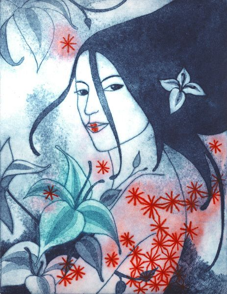 New etching/Nouvelle gravure : Vanilia
