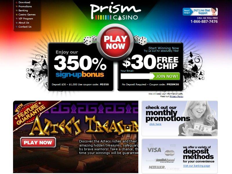 Prism Casino Coupon Codes