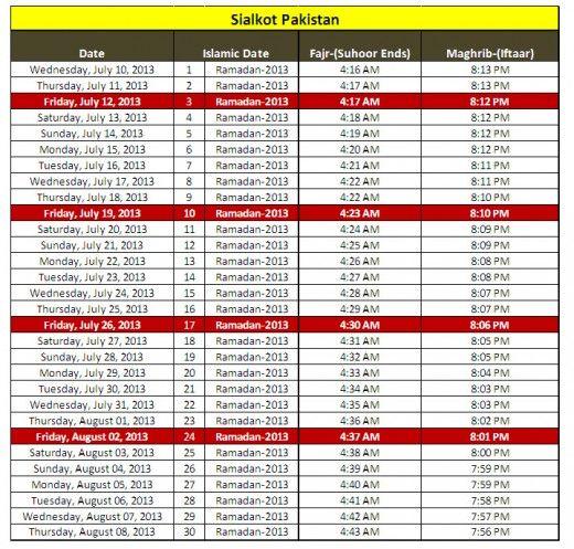 2013-Ramadan-calendar-Sialkot-Pakistan-sehri iftar-timing