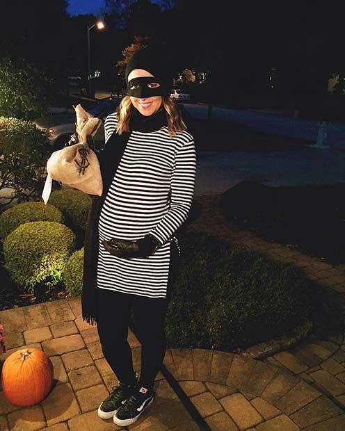 Easy DIY Burglar Costume for Pregnant Women -   wwwluxury