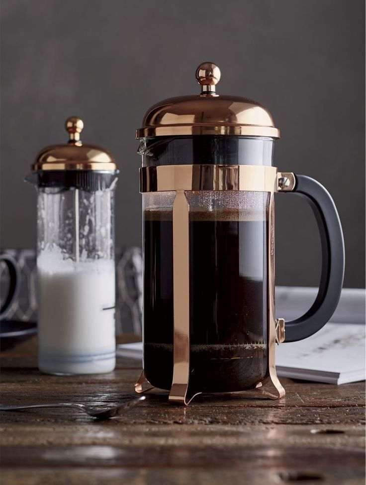 French Press Coffee Maker Ratio Grind Recipe House