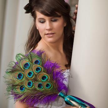 Feather Wedding Fans