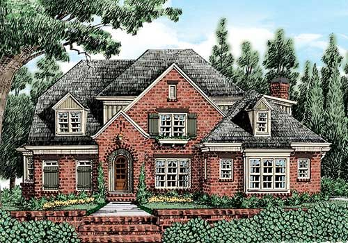 Lynden Manor - Home Plans and House Plans by Frank Betz Associates ...