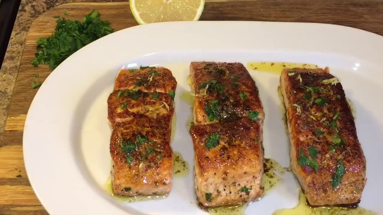 Photo of How to make Salmon Glazed with Brown butter lemon sauce