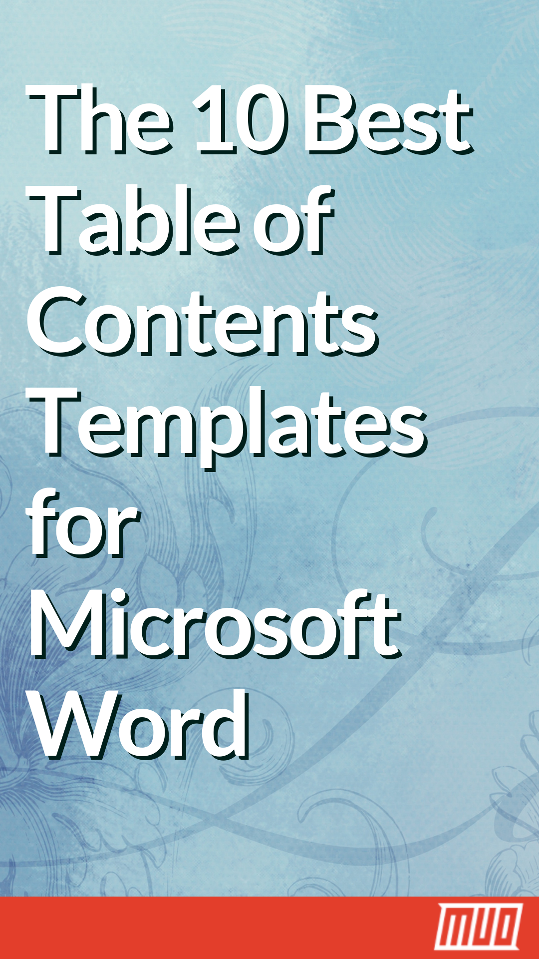 Microsoft Table Of Contents Template from i.pinimg.com