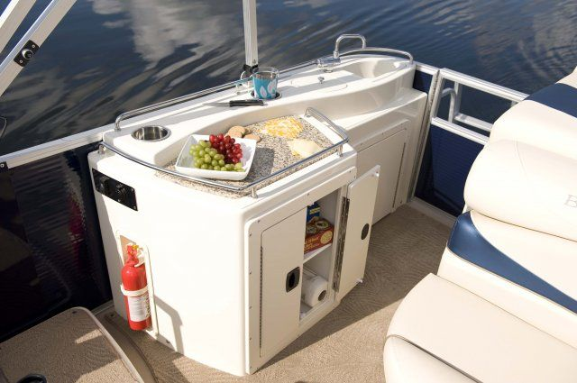 Galley for pontoon boat google search pontoon boat for Boat galley kitchen designs