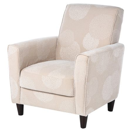 Found It At Wayfair Enzo Sunflower Arm Chair In Ivory