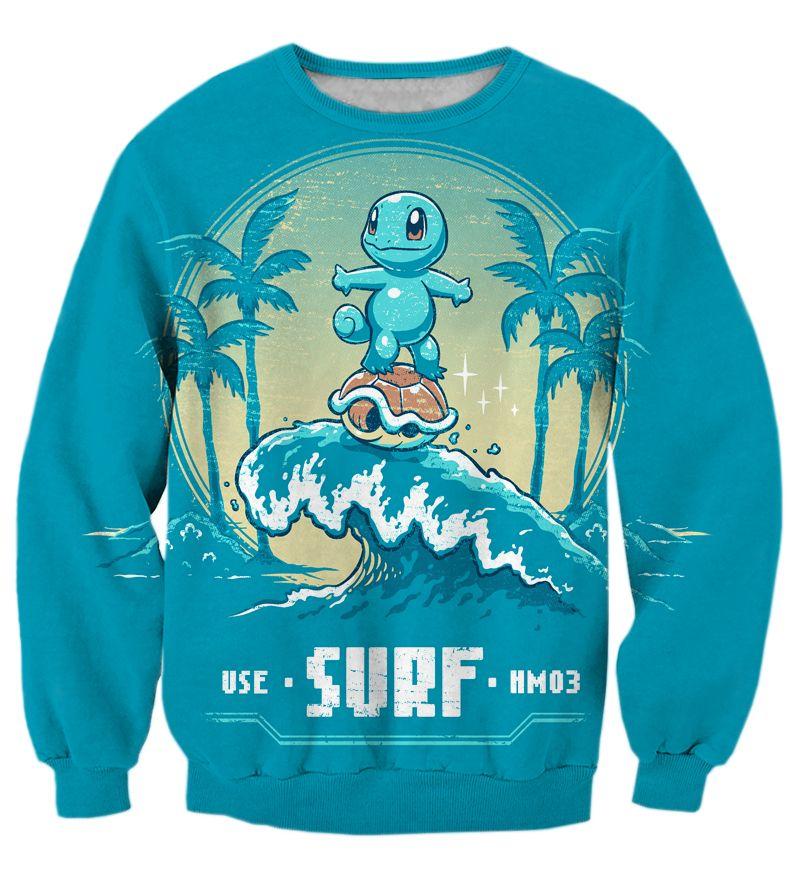 3cc5bcb8043 Pokemon Sweatshirts Squirtle 3D Sweatshirt   Price   33.13   FREE Shipping      fairytail  anime