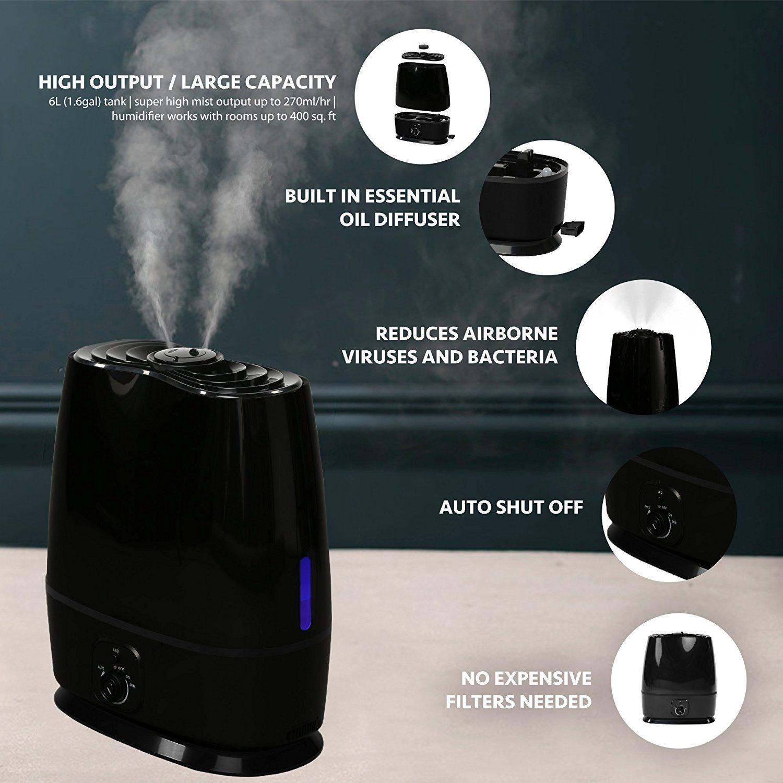 Everlasting Comfort #Ultrasonic #Humidifier #UltraQuiet