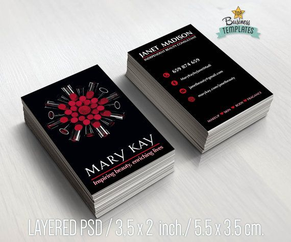 Mary kay cards printable mary kay branding beauty consultant mary kay business cards printable beauty by topbusinesstemplates fbccfo Image collections