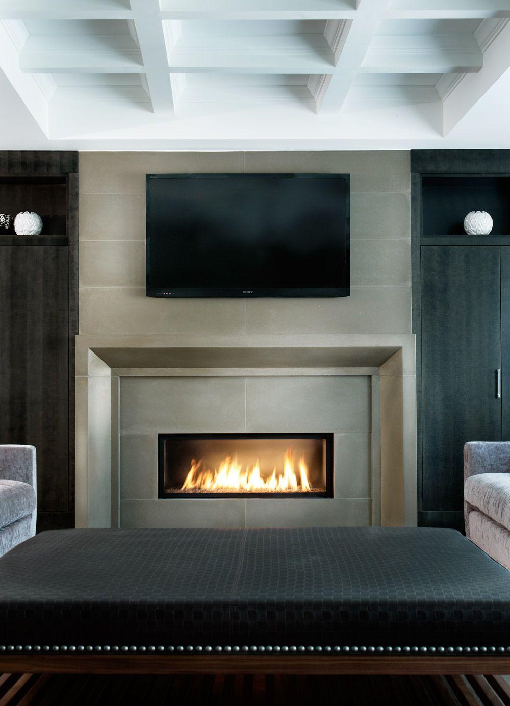 Modern Concrete Fireplaces Countertops Cladding Furniture Toronto Ontario