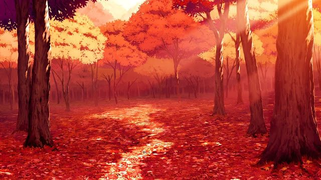 Anime Autumn Scenery High Definition Wallpapers Hd Wallpapers Anime Scenery Scenery Wallpaper Autumn Scenery