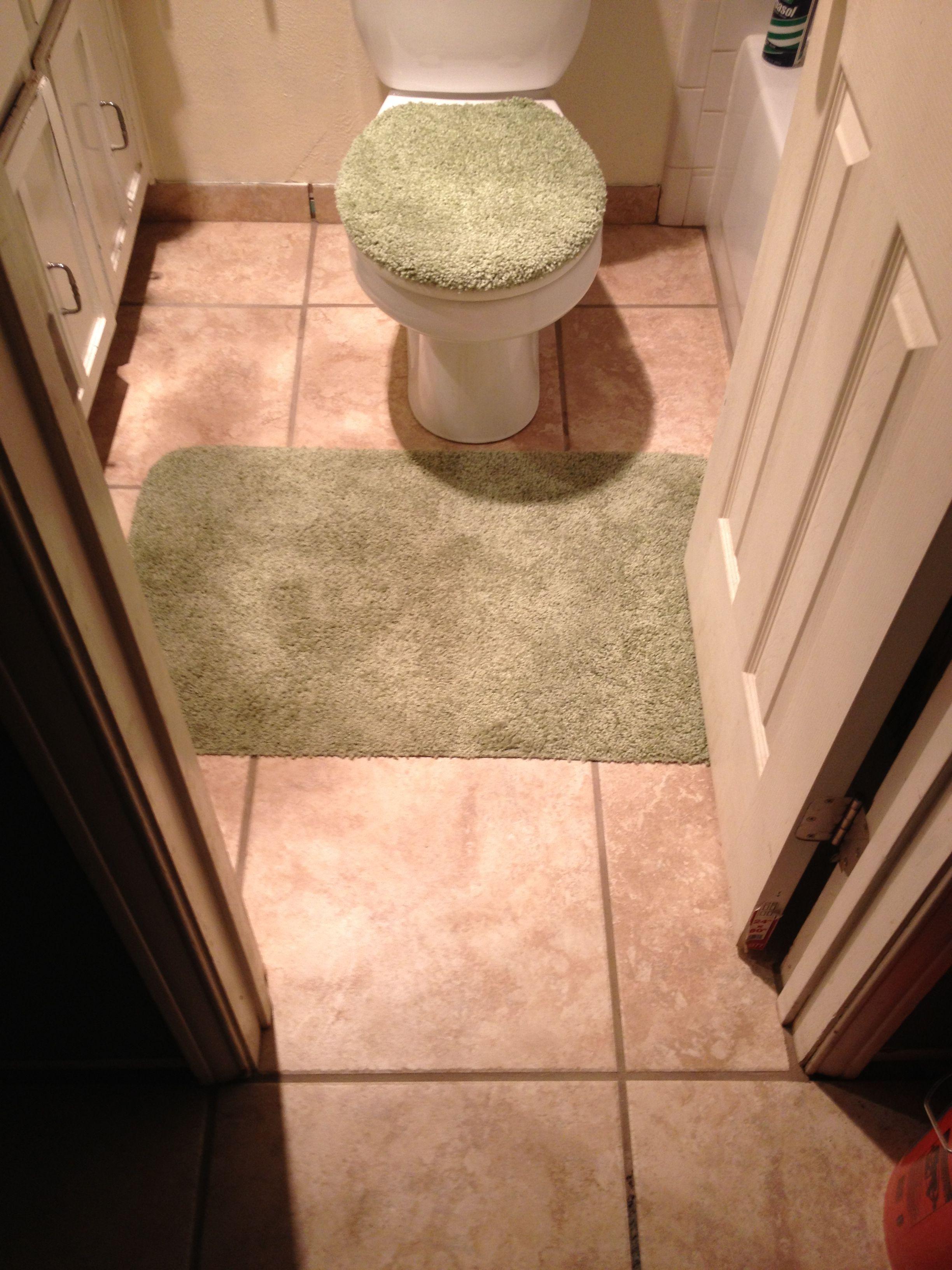 Ceramic Floor tile- front bath