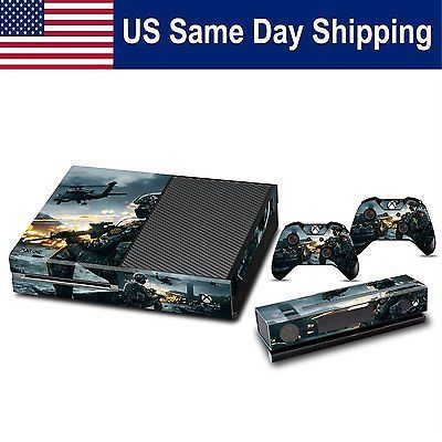 Mod custom skin sticker for xbox 1 console controller set decal battlefield 4