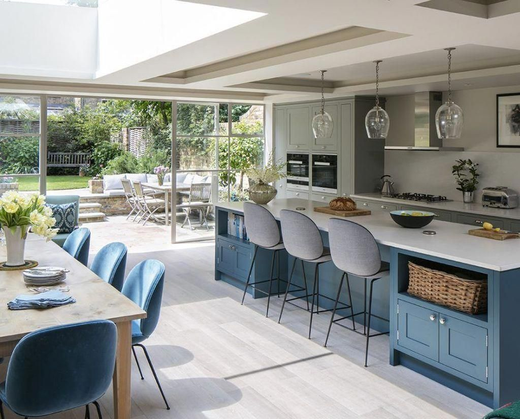 Outstanding Outdoor Kitchen Designs Layout Patio Information Is Readily Available On Our Websit Open Plan Kitchen Diner Modern Kitchen Open Open Plan Kitchen