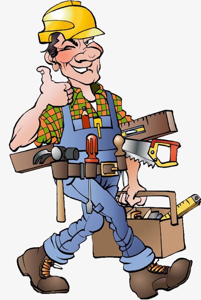 Surveying Worker Builder Worker Safety Hat Wear A Safety Helmet Hand Drawn Worker Surveying Safety Hat W Construction Worker Handyman Logo Cartoon Illustration