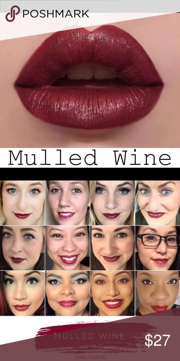Lipsense Lipstick Mulled Wine Makeup Brand New Tube Of Lipsense