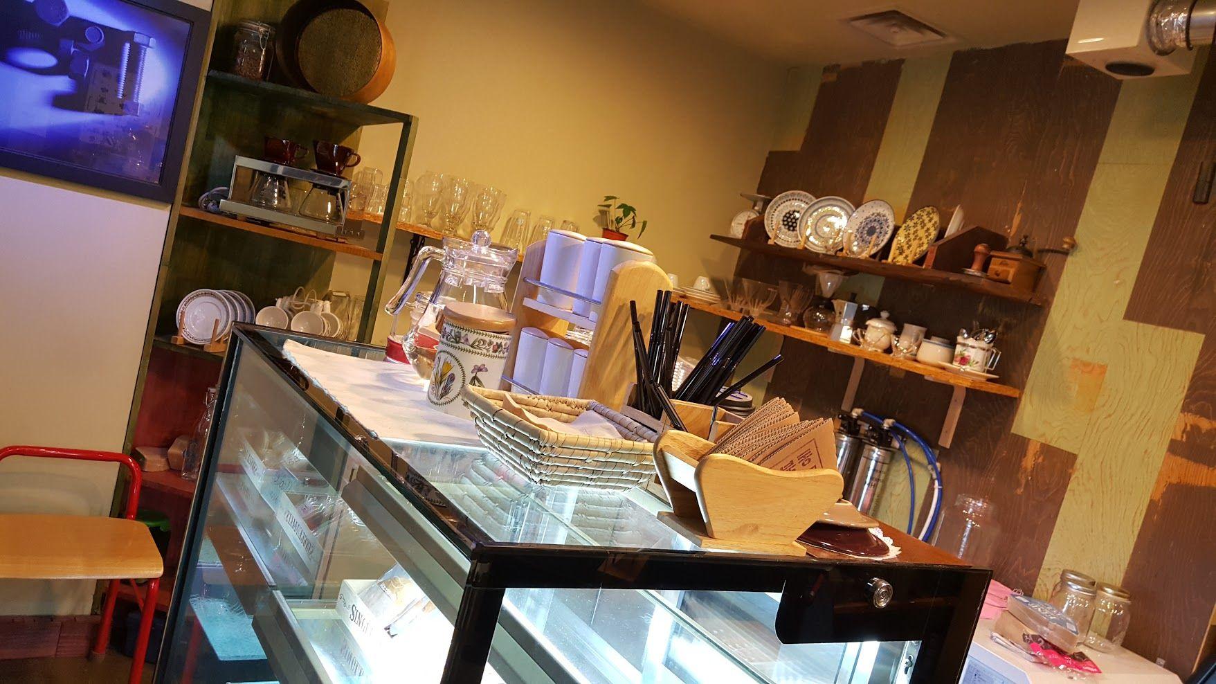 광화문에 있는 작은 직화식 로스터리 카페 성북동커피! #성북동커피