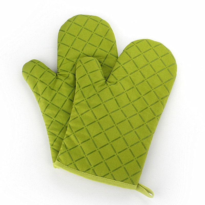 Kcasa kcpg02 1pcs silicone coating oven mitts microwave
