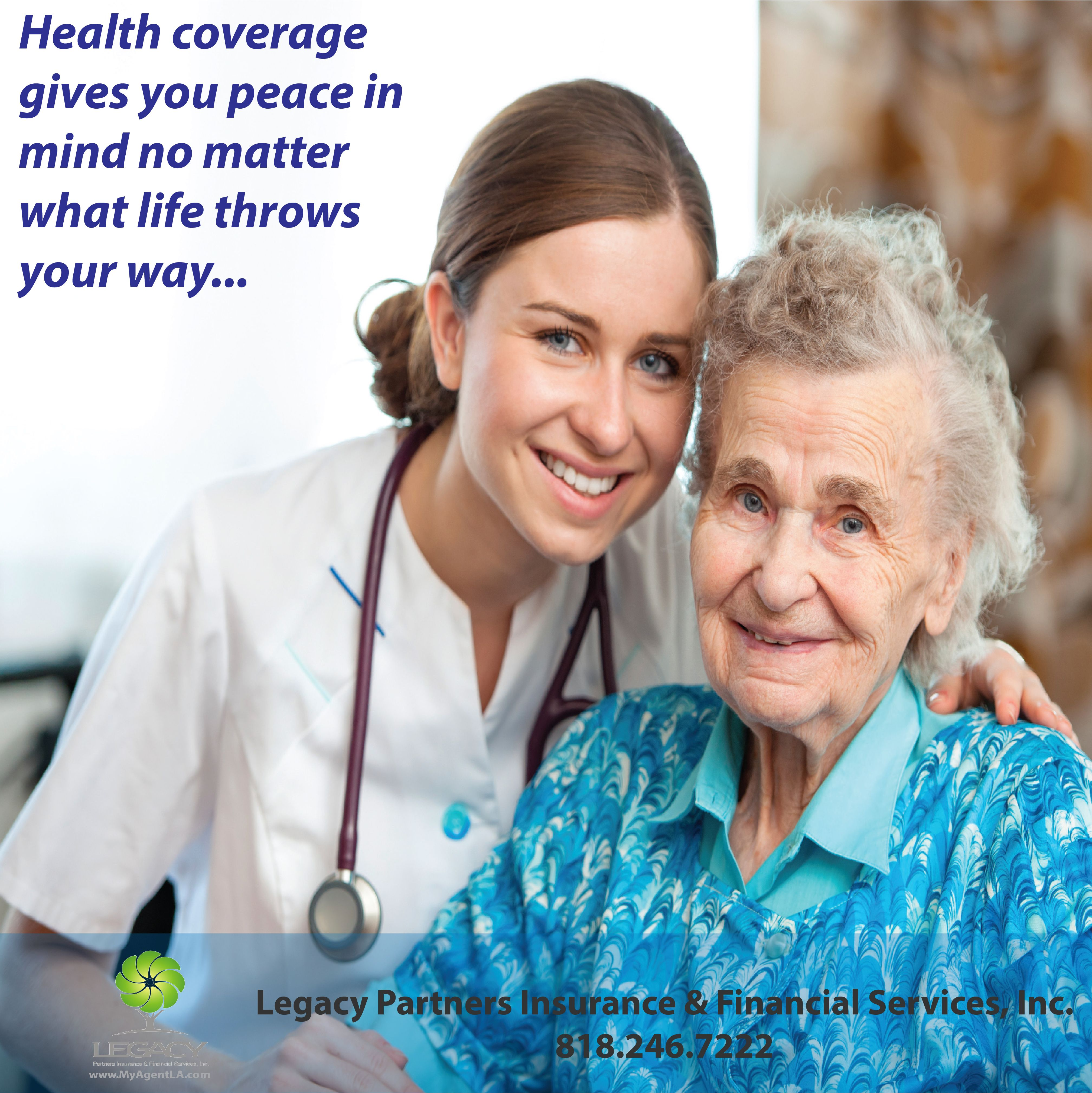 Health coverage gives you peace in mind Healthinsurance