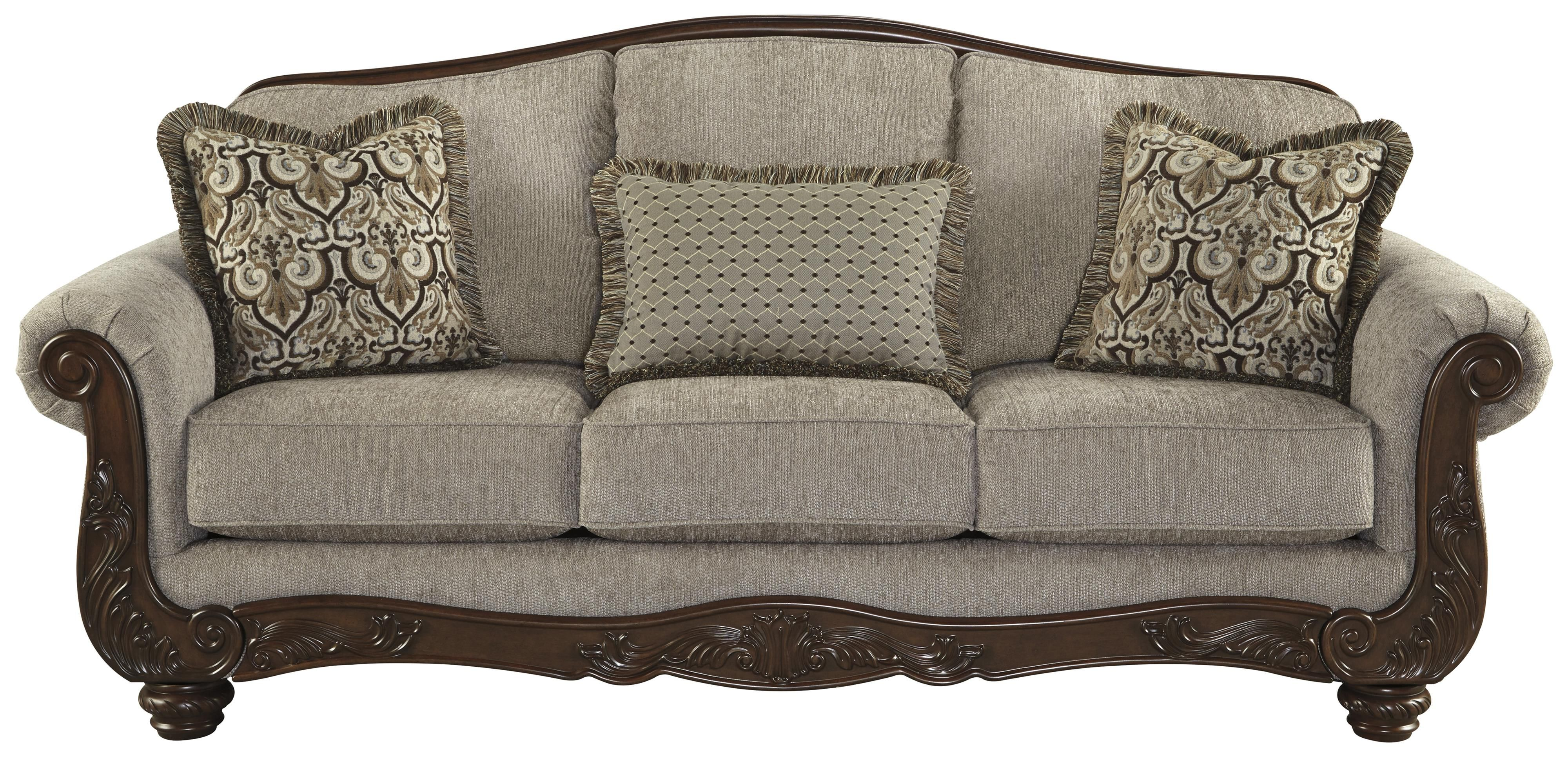 Cecilyn Sofa By Signature Design By Ashley At Beck S Furniture With Images Traditional Sofa Ashley Furniture Living Room Upholstered Sofa