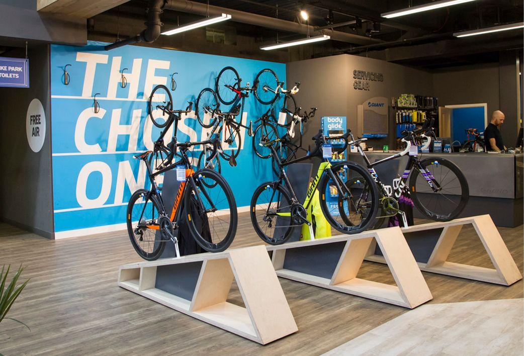 Brand Stores Giant Bicycles Retail Whiteroom Warung Kopi