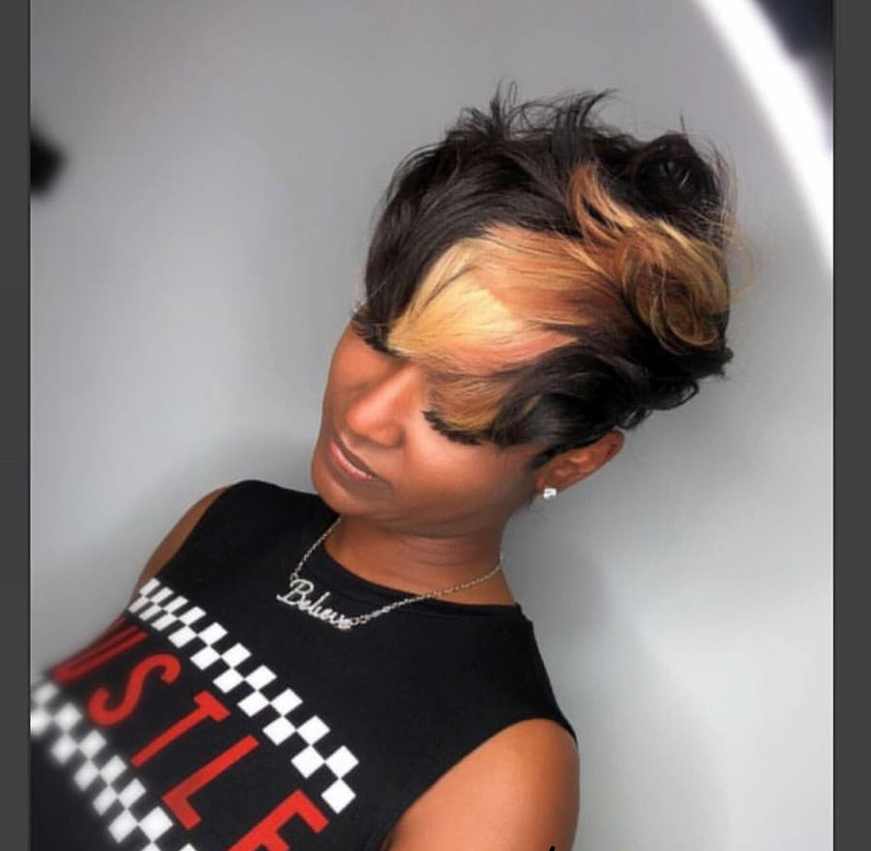 Pin by tesha tyson on all about hair pinterest short hair