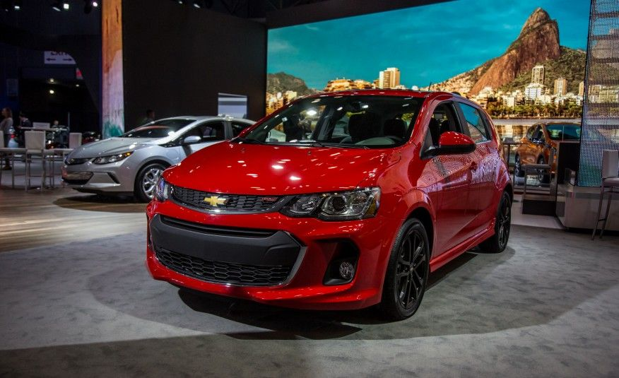 2017 Chevrolet Sonic Ev Auto Show Red Color Cool Cars