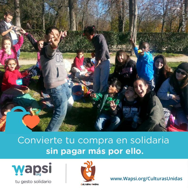 ¿Colaboras con @Culturas_Unidas en sus actividades extraescolares con la #infancia vía http://Wapsi.org/CulturasUnidas? :)