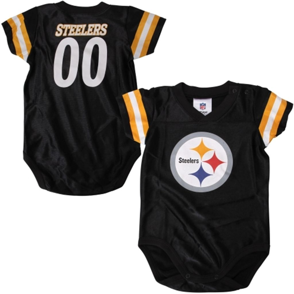 Steelers Baby Clothes Prepossessing Pittsburgh Steelers Infant Quarterback Creeper  Black Best Website Inspiration