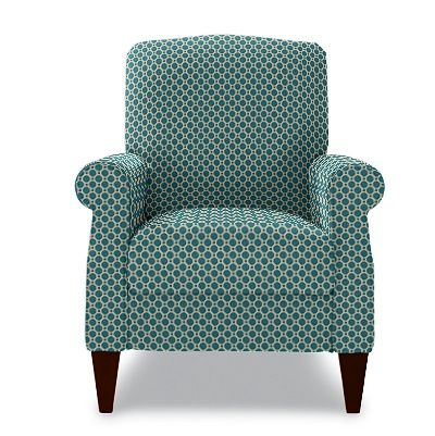 Ordinaire Charlotte High Leg Recliner By La Z Boy  Turquoise     Small