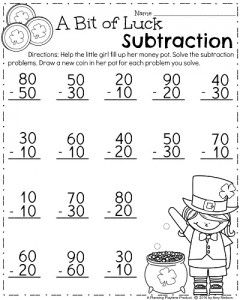 March First Grade Worksheets | Math worksheets, Worksheets and Math