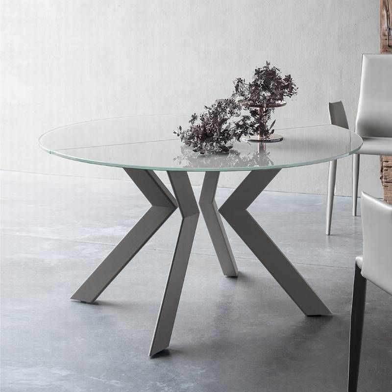 Moderne Table Ronde Extensible Design