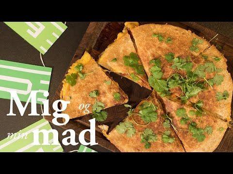 Quesadilla opskrift med guacamole  - Mexicansk mad - se her