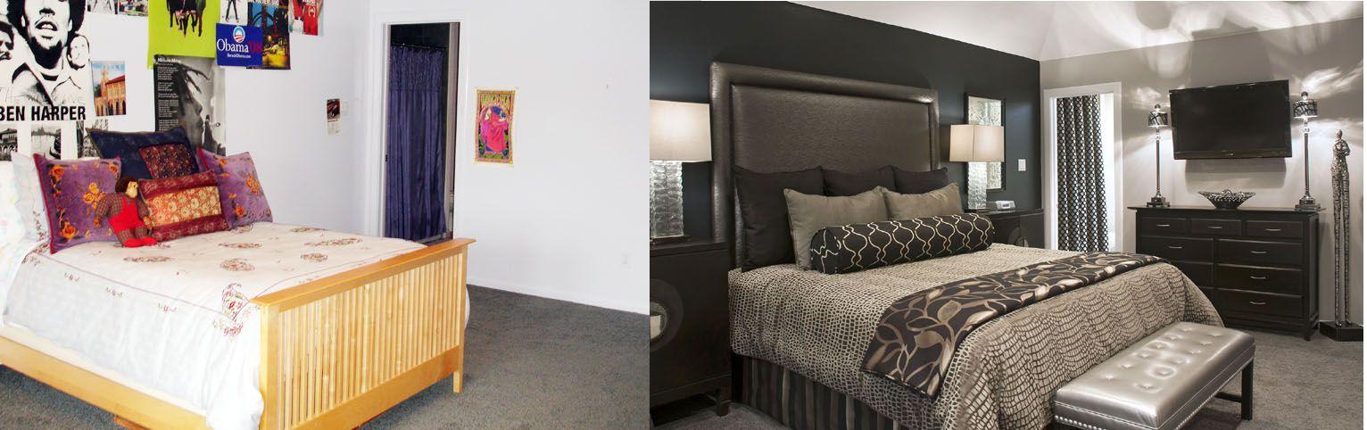 Decorating Den Interiors shows an empty-nester\u0027s guest bedroom