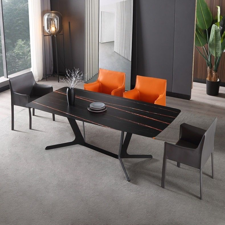 985 99 Rectangular Stone Dining Table Modern Table For Dining