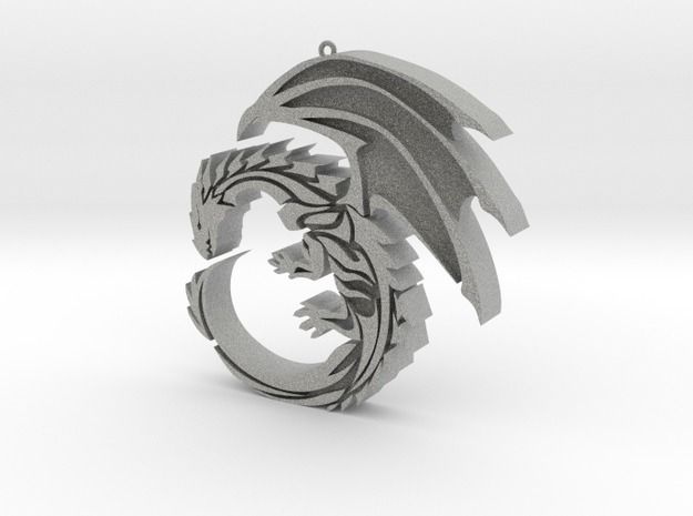 301468b1dea2c3 Pendant Dragon Style by 3Dcloud on | Awesome Wish List | 3d printed ...