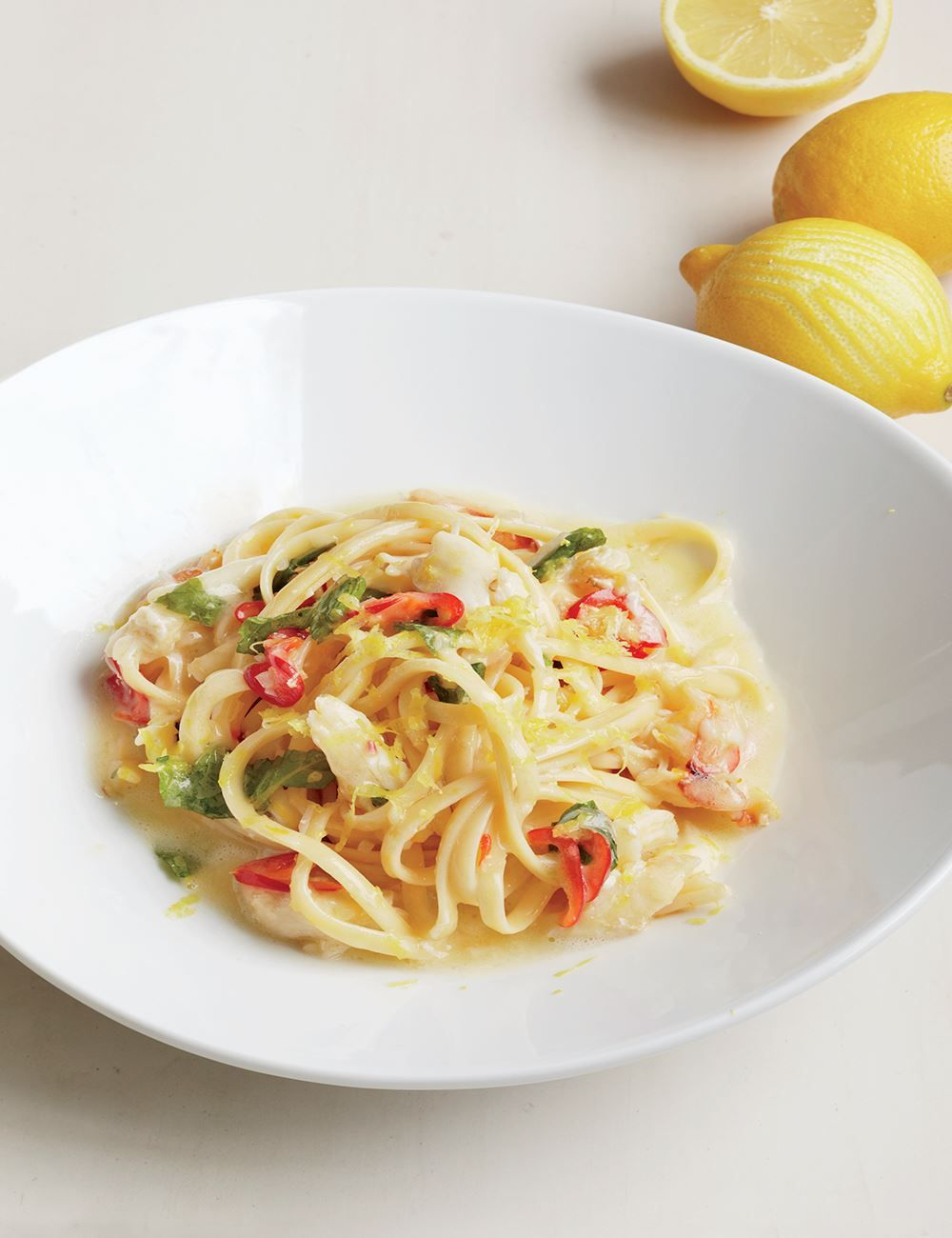 8 seafood pasta recipes with crab, anchovy, lobster and more