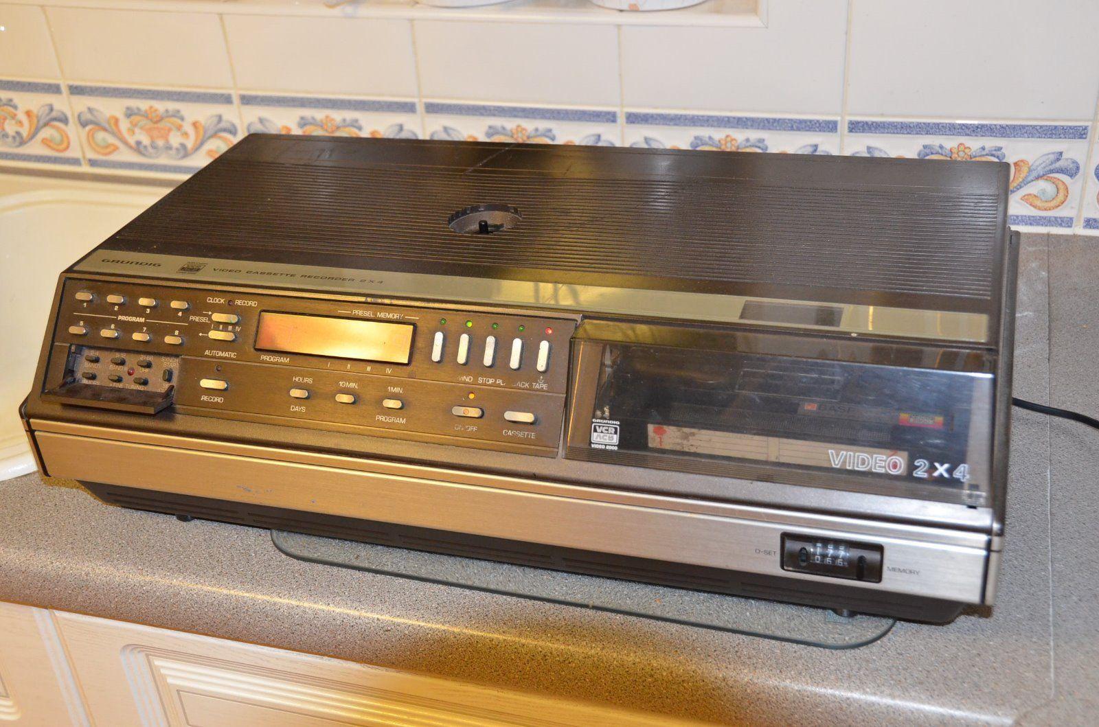 Grundig Video 2000 Video 2x4 VCR Video Recorder eBay