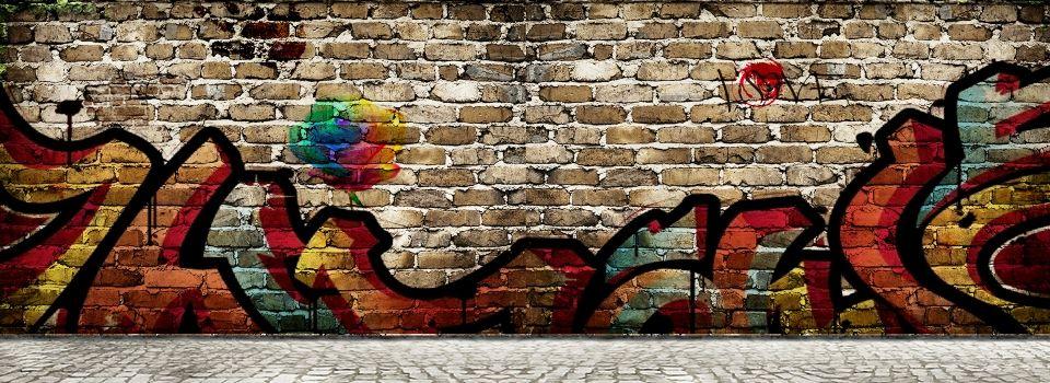 Cartoon Hip Hop Photo Wall Wall Painting ภาพ ฮ ปฮอป พ นหล ง