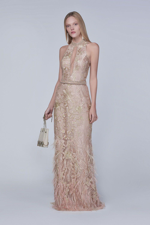 Patchoullebbverg fashion gown vestido de