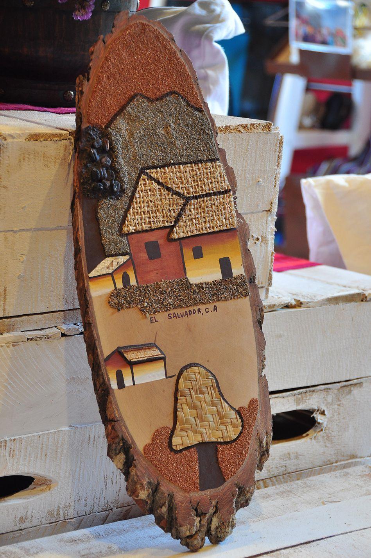 Artesania en madera fotos para cuadros pinterest for Artesanias en madera