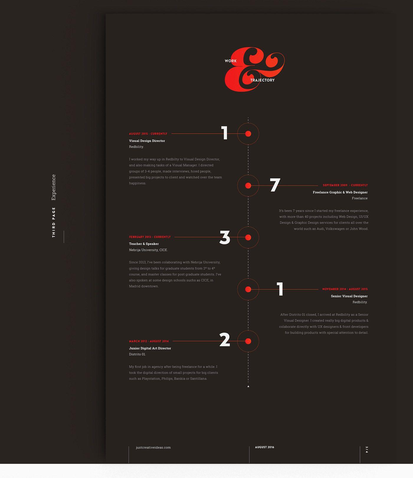 My new resumecv on behance resume resume cv resume design