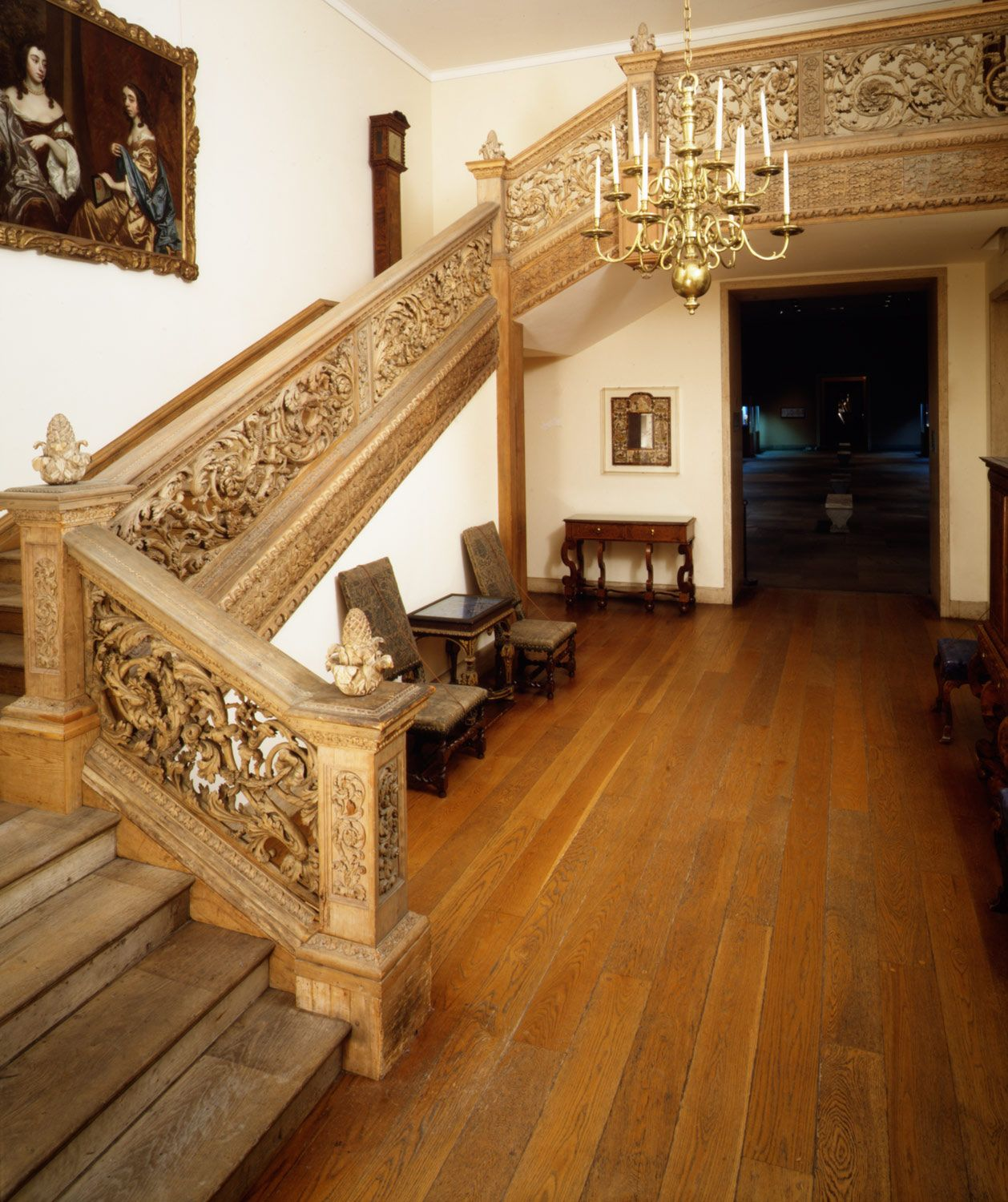 Knole House Floor Plan Staircase From Cassiobury Park Herfordshire John Pearce