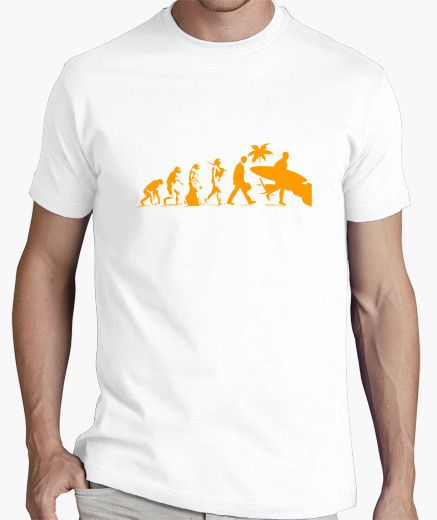 T-shirt Surf Evolution